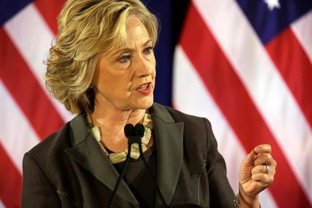 Hillary Clinton étaitsecrétaire d'État au moment de l'attaquede... (Photo Mary Altaffer, AP)