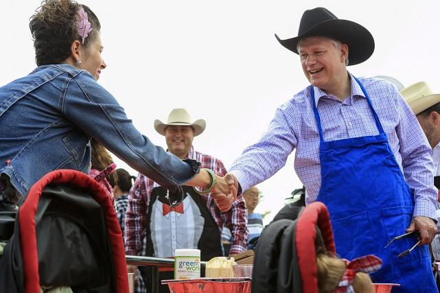 Le premier ministre Stephen Harper a participé auStampede... (Photo Crystal Schick, archives Reuters)