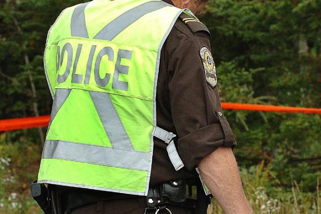 Une sortie de route a fait un mort samedi matin à Témiscouata. (Photothèque Le Soleil)