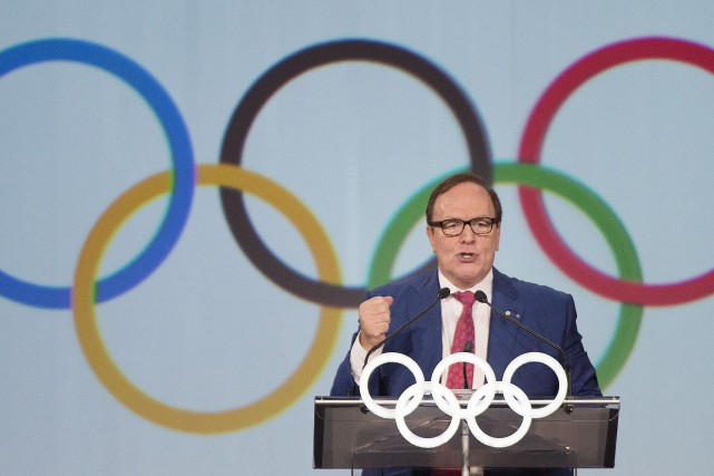 Marcel Aubut... (PHOTO ARCHIVES LA PRESSE CANADIENNE)