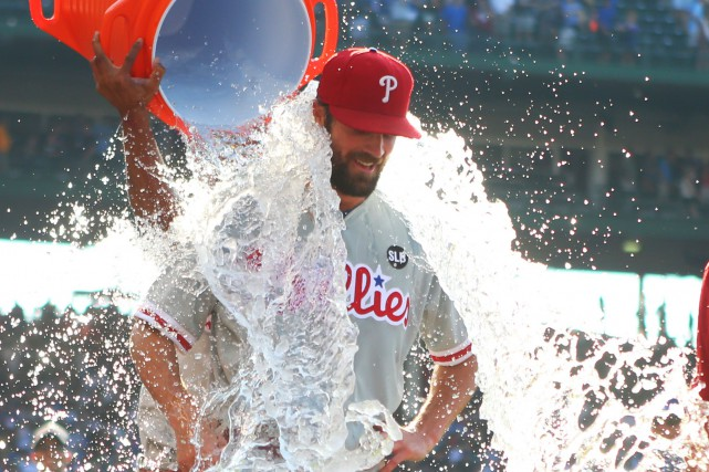 Cole Hamels... (Photo Caylor Arnold, USA Today)