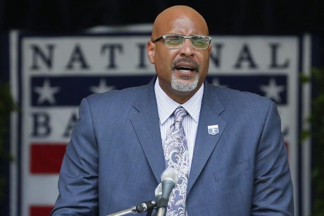 Le directeur général du syndicat des joueurs,Tony Clark... (Photo Mike Groll, AP)