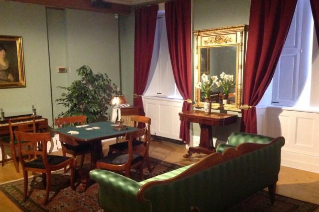 Le salon bourgeois de la Maison historique Chevalier... (Photo fournie par la Maison historique Chevalier)
