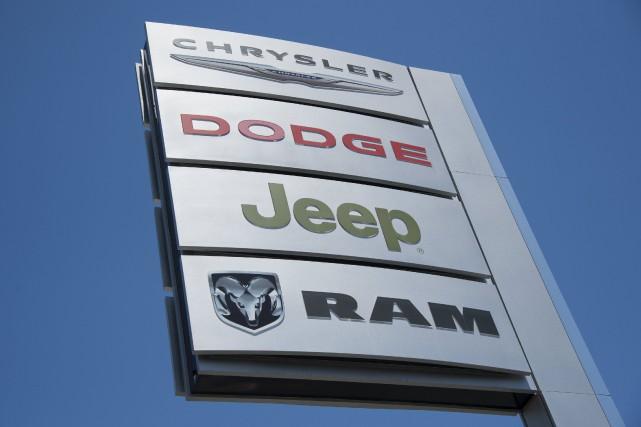 Dans un courriel, Fiat Chrysler a précisé que... (Photo Phil McCarten, Reuters)