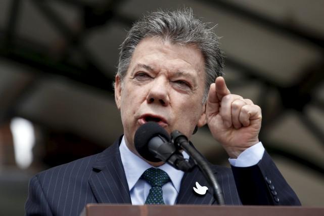 Le président Santos avait ordonné en mars dernier... (Photo John Vizcaino, archives Reuters)