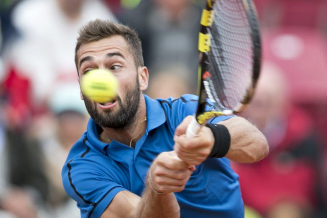 Benoît Paire... (PHOTO REUTERS/TT NEWS AGENCY)