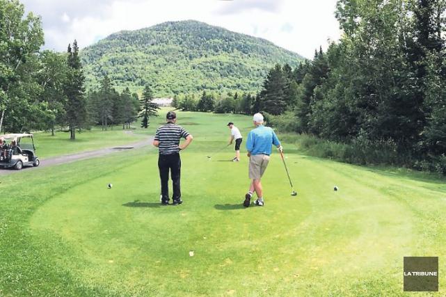 Le Club de golf Owl's Head est probablement le secret golfique le mieux gardé... (La Tribune, Sébastien Lajoie)