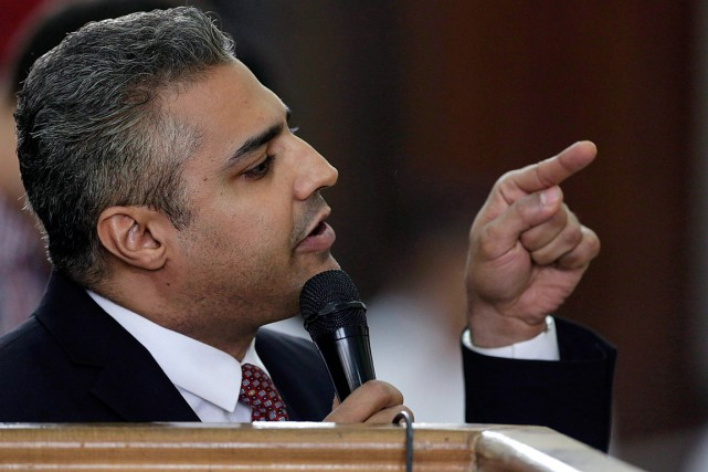 Le journaliste canadien Mohamed Fahmy.... (Photo Amr Nabil, AP)