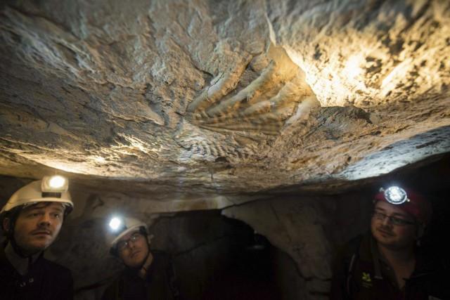 Le complexe souterrain se situe à 23 mètres... (PHOTO LEON NEAL, AFP)