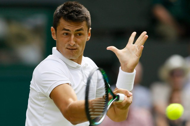 Bernard Tomic... (PHOTO KIRSTY WIGGLESWORTH, ARCHIVES AP)