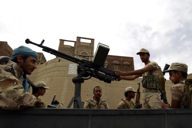 Les Houthis, issus de la minorité zaïdite (branche... (Photo AFP)