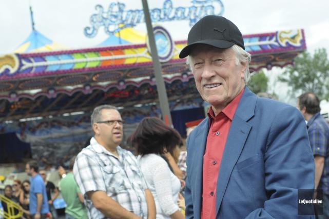 Le directeur général de l'Expo agricole de Chicoutimi... ((Photo Le Quotidien, Michel Tremblay))