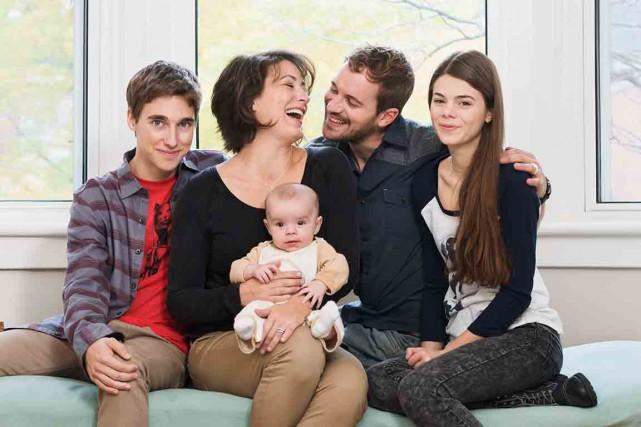 La famille s'agrandit pendant la deuxième saison de... (Photo fournie par Radio-Canada)