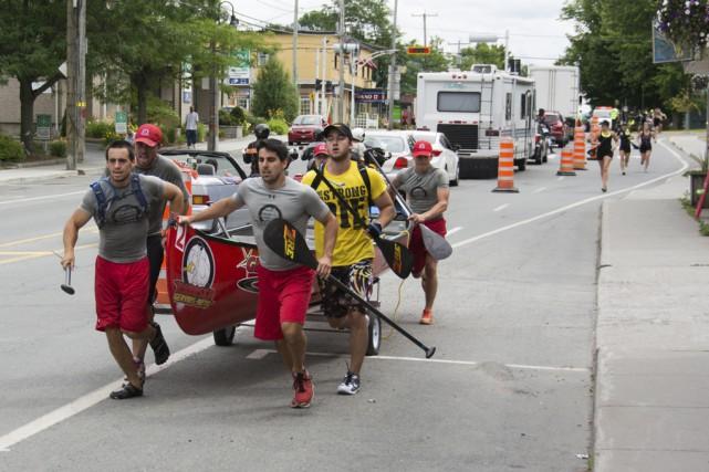 Un moment impressionnant pour les amateurs de rame... (photo gracieuseté Yanik Chauvin, Image-Y.com)