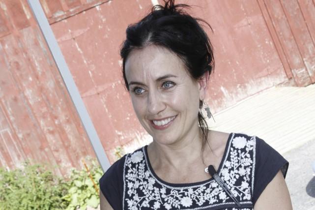 La coiffeuse Sylvie Boulet, de Dunham, récupérera les... (photo Julie Catudal)