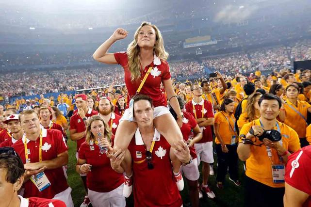 Toronto a dit au revoir aux Jeux panaméricains... (La Presse Canadienne)