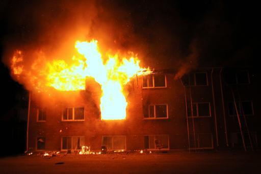 L'incendie est survenu dans la nuit du 22... (Photo collaboration spéciale Éric Beaupré)