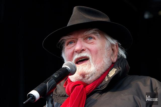 L'ex-animateur radiophonique et comédien Jacques Languirand.... (PHOTO ROBERT SKINNER, ARCHIVES LA PRESSE)