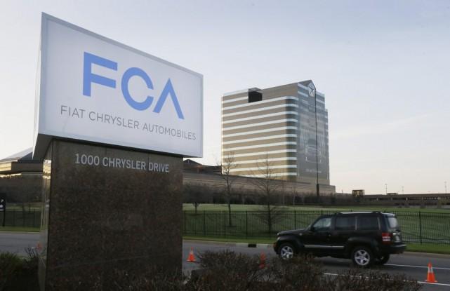 Le siège social de Fiat Chrysler Automobiles (FCA)... (ARCHIVES AP, CARLOS OSORIO)