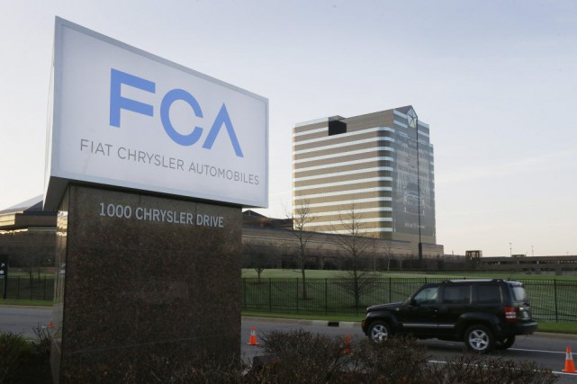 Le siège social de Fiat Chrysler Automobiles (FCA)... (PHOTO CARLOS OSORIO, ARCHIVES AP)