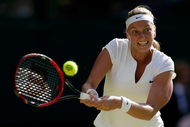 Petra Kvitova... (PHOTO HENRY BROWNE, ARCHIVES REUTERS)