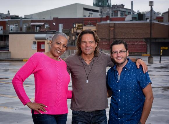Kim Richardson, Rick Hughes et Marc-André Fortin sont... (photo: François Gervais)
