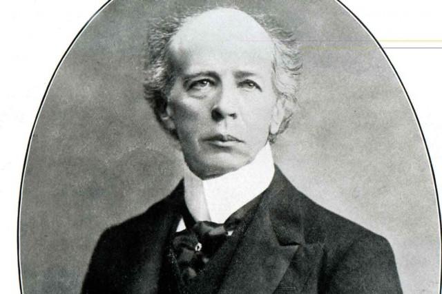 Sir Wilfrid Laurier, premier ministre du Canada Laurier...