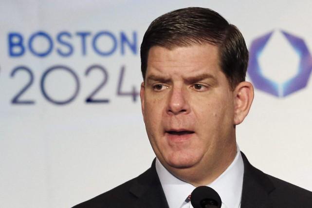 Le maire de BostonMarty Walsh... (PHOTO WINSLOW TOWNSON, ARCHIVES AP)