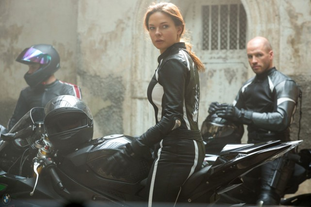 Ilsa Faust (Rebecca Ferguson) est un agent secret... (PHOTO FOURNIE PAR PARAMOUNT PICTURES)