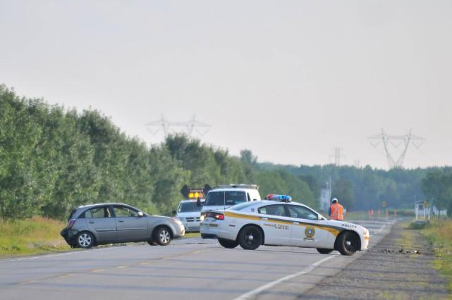 La Sûreté du Québec a dévoilé l'identité du jeune motocycliste décédé dimanche... (Photo: Émilie O'Connor)