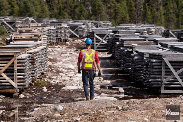 Strateco, une société minière junior, a dû se... (PHOTO HUGO-SÉBASTIEN AUBERT, ARCHIVES LA PRESSE)