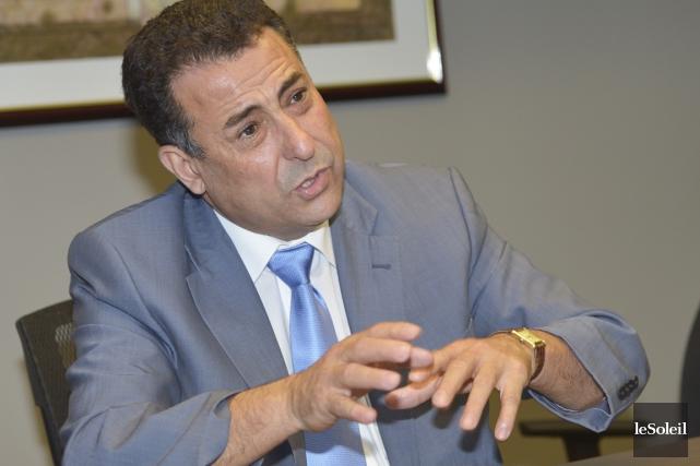 Mohamed El-Khayat, copropriétaire de l'entreprise Informatique EBR, avait... (Photothèque Le Soleil, Jean-Marie Villeneuve)