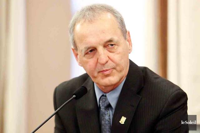 Le maire de Sainte-Anne-de-Beaupré,Jean-Luc Fortin... (Photothèque Le Soleil)