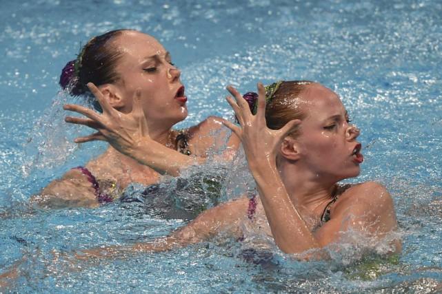Jacqueline Simoneau et Karine Thomas.... (Agence France-Presse)