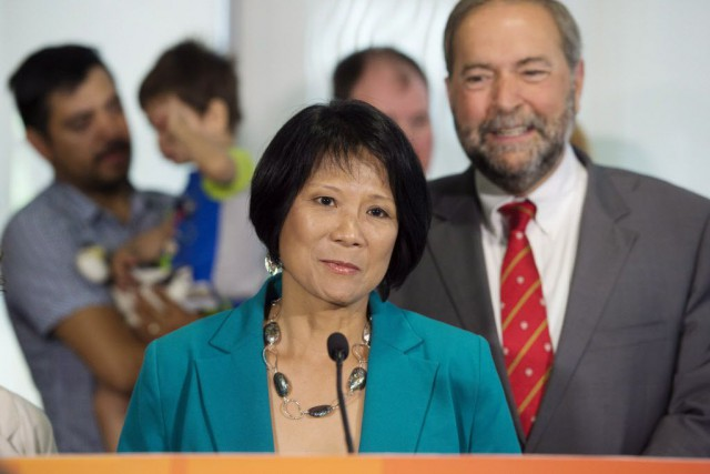 Olivia Chow... (Photo Darren Calabrese, La Presse canadienne)