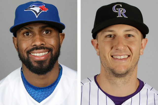 Jose Reyes et Troy Tulowitzki... (Photos AP)