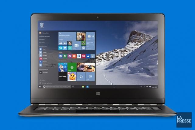 Parmi les éléments qui changeront, outre le menu... (Microsoft)
