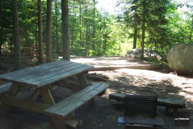 On ne badine pas avec la tranquillité au parc national Frontenac. Un groupe de... (Archives La Tribune)