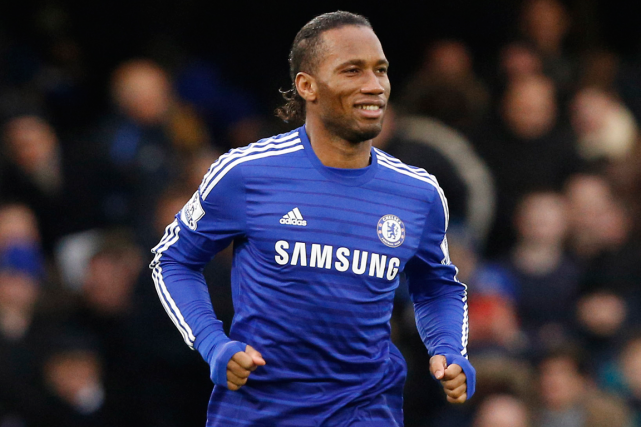 Didier Drogba... (Photo Justin Tallis, AFP)