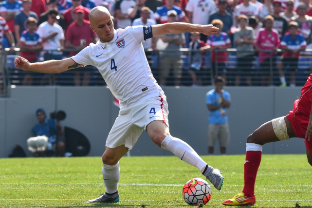 Michael Bradley... (Photo Nicholas Kamm, AFP)