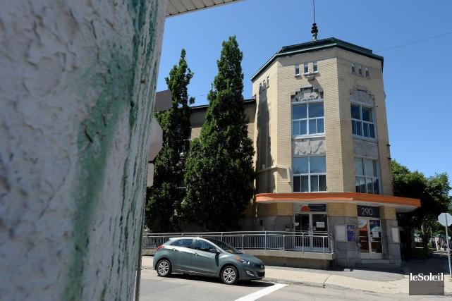Le Centre Durocher dans le quartier Saint-Sauveur... (Photothèque Le Soleil, Erick Labbé)