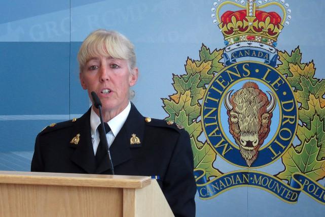 L'inspectrice de la GRC, Stacey Talbot... (Photo Dean Bennett, La Presse Canadienne)
