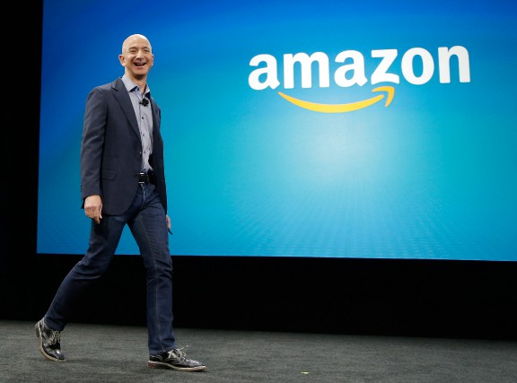 Le fondateur d'Amazon, Jeff Bezos, a une fois... (PHOTO TED S. WARREN, ARCHIVES ASSOCIATED PRESS)