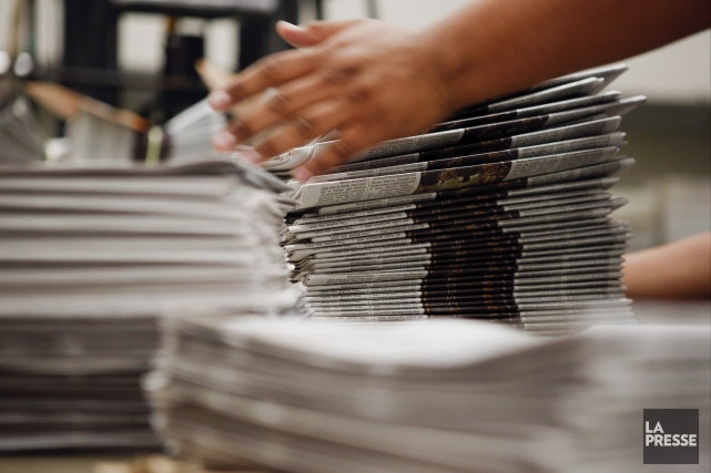 L'enquête, qui a recensé quelque 1400 quotidiens aux... (Archives La Presse)