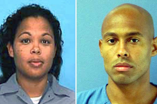 Curtis Jones et sa soeur, tous deux condamnés... (Photomontage AFP)