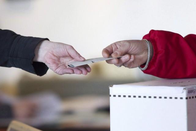«Le droit de vote est ce qui distingue... (Photo archives La Presse Canadienne)
