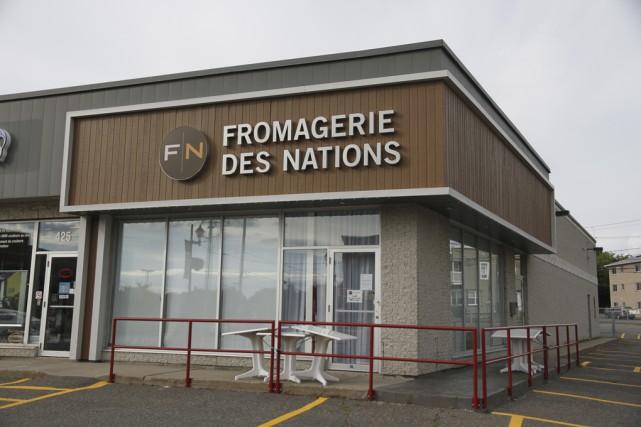 Ouverte depuis quatre ans, la Fromagerie des Nations... (photo Julie Catudal)