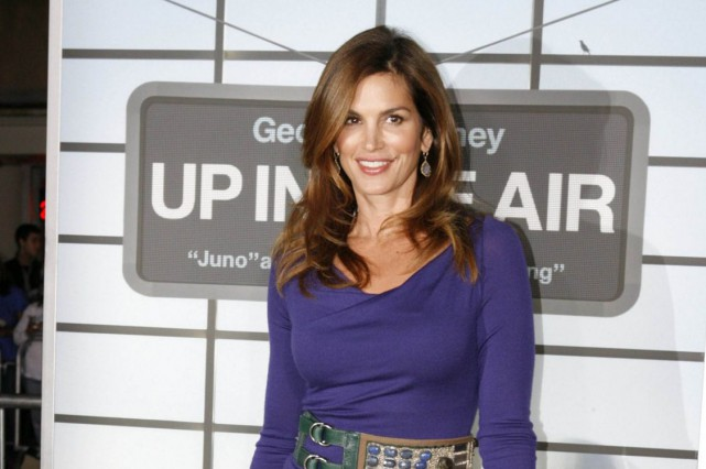 Cindy Crawford... (Photo archives Reuters)