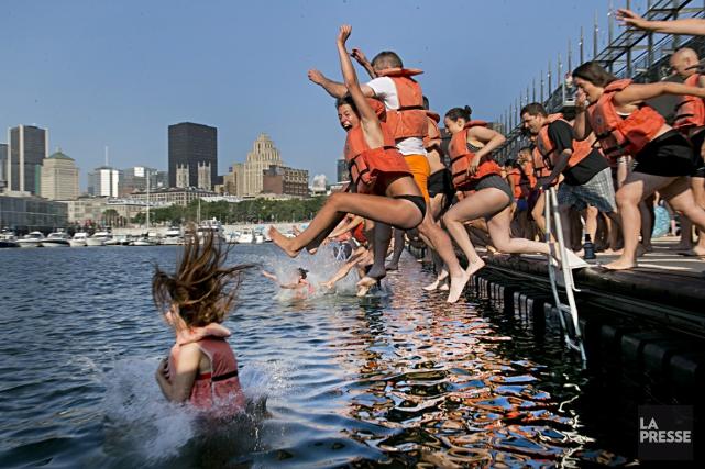 Les plans du bain portuaire devraient être réalisés... (Photo David Boily, archives La Presse)