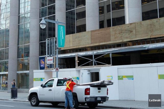 Trois travailleurs de la construction ont été grièvement... (Simon Séguin-Bertrand, LeDroit)
